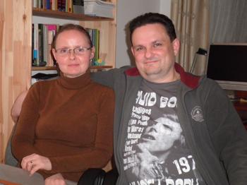 Piotr and Eliza Gindrich photo