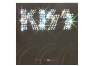 KISS logo in the 1970s